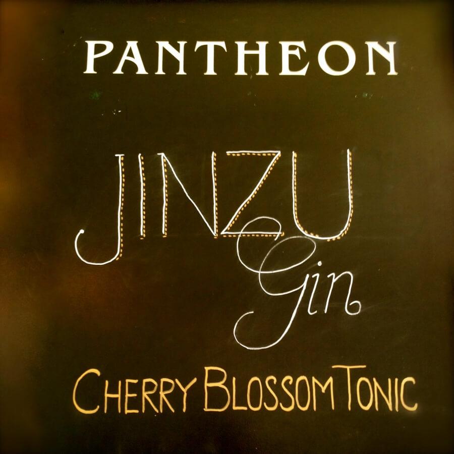 Jinzu & Cherry Blossom Tonic