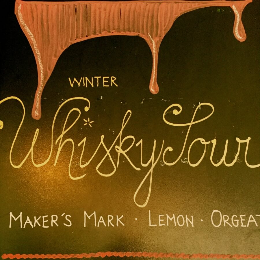 Winter Wisky Sour