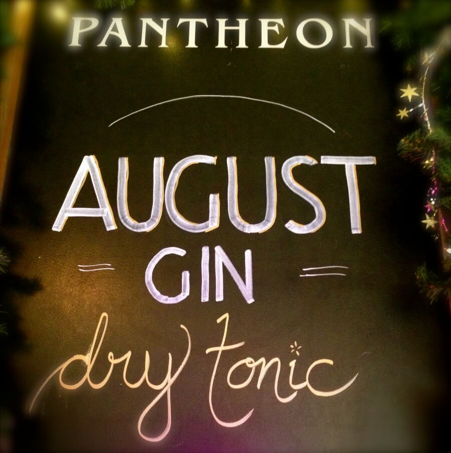 August Gin & Dry Tonic