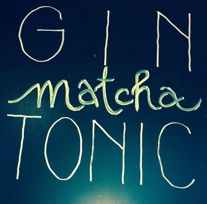 Gin Matcha Tonic